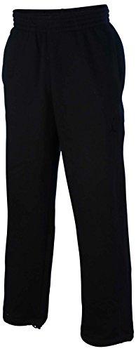 Jordan Men's Nike 23/7 Jumpman Fleece Sweatpants-Black-Medium