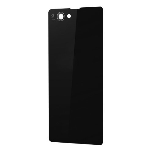 Generic Back Rear Glass Cover Battery Door Housing Cover Compatible with Sony Xperia Z1S Z1 Compact Z1 Mini D5503 M51w (Black) (Sony Xperia Z1 Replacement Cover compare prices)
