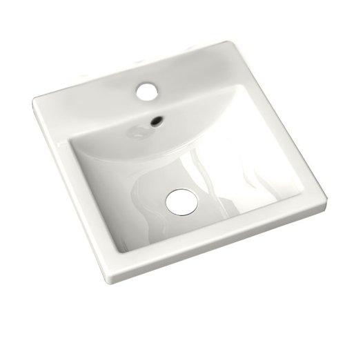 Vintage American Standard Studio Care Countertop Bathroom Sink White