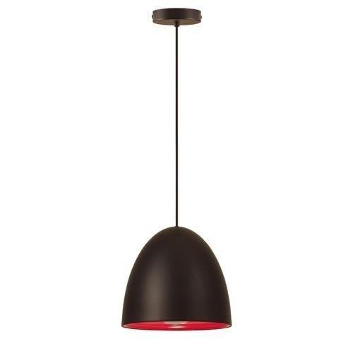 mondilux-eggo-hv-pendelleuchte-230v-e27-1x150w-schwarz-innen-rot-exkl-leuchtmittel-oe-30cm-pendellan