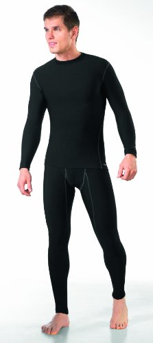 gWINNER ® Men´s Sports Thermoactive SET Long sleeve Shirt + Long Tights - Breathable and High-Wicking - SILVERPLUS® ANATOMY - THERMO Line