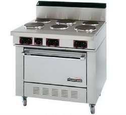 Electric Range Commercial back-1389