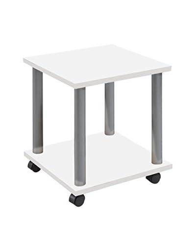 Basic Home Tavolino Ausiliario Stark C12 Bianco