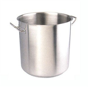 Futura Stock Pot, 27-1/2 quart (26 liter), stainless steel
