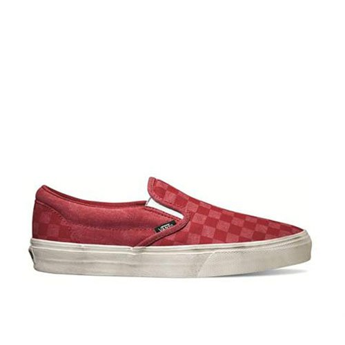 Vans, Sneaker bambine Rosso Red Check/White 38.5 EU