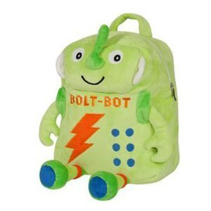 Laid Back Kids Bolt-Bot Plush Robot Backpack