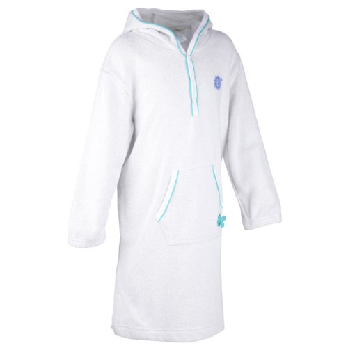 Splash About - Après Splash Hooded Robe (Soft Towelling), Turquoise, 4-6 Years front-792591