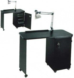 Pibbs manicure table locking model nc1006n the makeup for Long manicure table