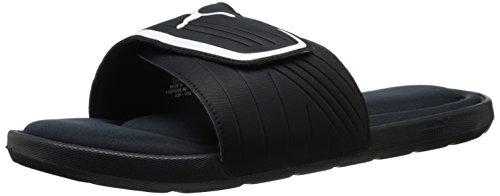 puma-mens-starcat-mfoam-slide-sandals-black-white-11-d-us
