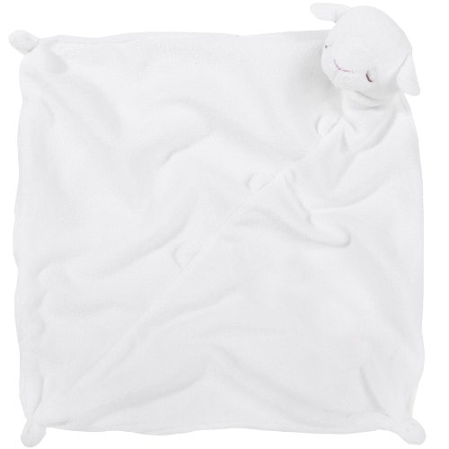Angel Dear Lamb Blankie - White