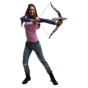 Nerf Rebelle Phoenix Design Heartbreaker Bow Set