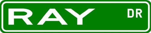 RAY Street Sign ~ Family Lastname Sign ~ Gameroom, Basement, Garage Sign - Buy RAY Street Sign ~ Family Lastname Sign ~ Gameroom, Basement, Garage Sign - Purchase RAY Street Sign ~ Family Lastname Sign ~ Gameroom, Basement, Garage Sign (The Lizton Sign Shop, Home & Garden,Categories,Patio Lawn & Garden,Outdoor Decor)