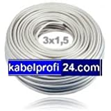 Mantelleitung NYM-J 3x1,5mm² -25m Ring- NYMJ