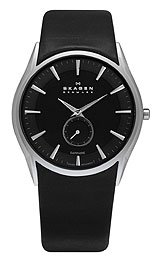 Skagen Black Label 2-Hand with Sub-Second Dial Men's watch #808XLSLB