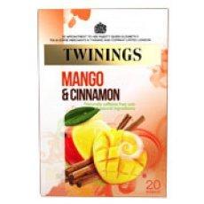 Twinings Mango & Cinnamon 20 Btl. 40g - mit Mango, Orangen und Zimtgeschmack von R. Twinings and Company Ltd. - Gewürze Shop