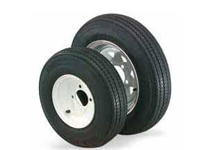 5 Hole Wheel, Trailer Tire/Wheel Kit - 4.8x8, Manufacturer: ITP, WHEEL ASSY 4.80X8 C 5-HOLE