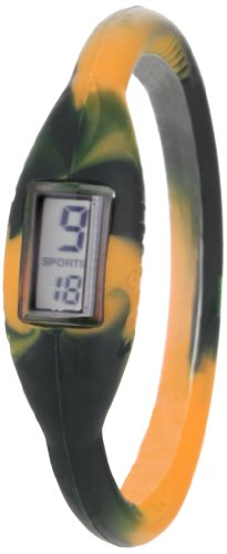 The Original Skinny Men's Large SWML01 Negative Ion Tie Dye Sports Watch