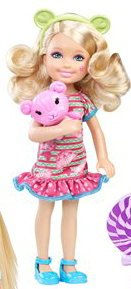 Barbie Doll Chelsea & Friends Amusement Park Theme by Mattel