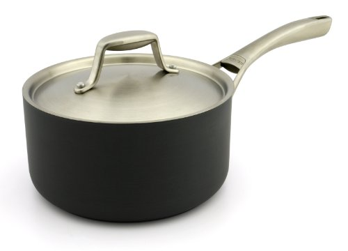 GreenPan San Francisco Saucepan with Lid, 3-Quart