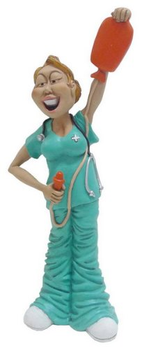 Hi Line Gift Warren Stratford Occupations Collectible Figurine, 9.5-Inch, Nurse