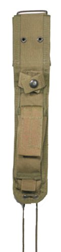Rothco G.I. Type Enhanced Nylon Knife Sheath, OD Green
