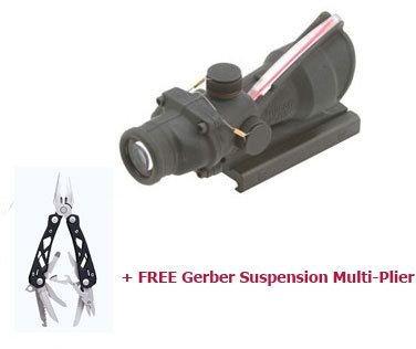 Trijicon Acog 4X32 Usmc Riflescope, For M4, Ta51 Mount, Free Gerber Tj-Rs-Ta31Rco-M4-Kit2