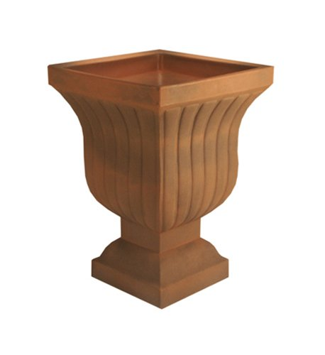 Crescent Garden A695533 Leyla Urn Planter in Rust