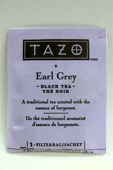 Tazo Earl Grey Scented Black Tea [96 Pieces] *** Product Description: Tazo Earl Grey Scented Black Tea Single Bag In Sealed Packet. ***