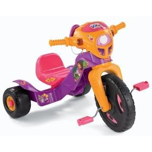 Toy / Game Fisher-Price Dora The Explorer Lights And Sounds Trike W/ Authentic Motorcycle Sounds & Fun Phrases
