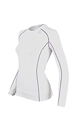 COOVY Women's Sports Compression Under Base Layer Long Sleeve Top Armour, Style WLT01