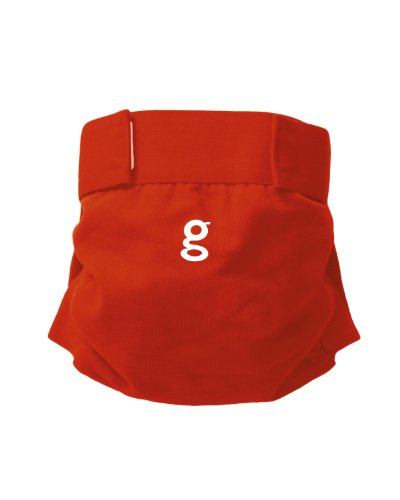 gDiapers gPants, Grateful Red, Medium - 1