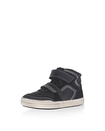 Geox Zapatillas abotinadas Negro