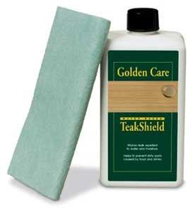 """Teak-Shield – Schutz für Teakholz von """"Golden Care"""" Pflegemittel – 62564 jetzt kaufen"""