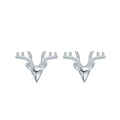 lackingone-orecchini-earrings-argento-sterling-925-varie-forme-regalo-per-donna-ragazza-cervo-animal