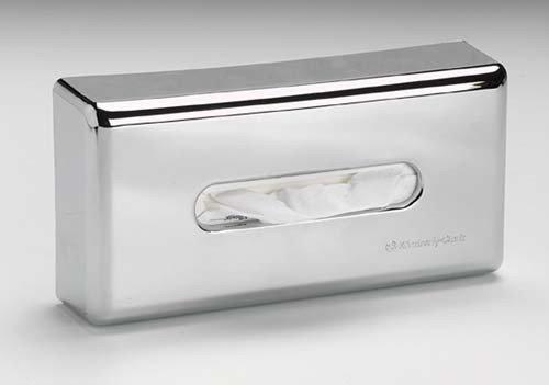 kimberly-clark-flach-box-metallic-finish-chrom-facial-tissue-spender-silber