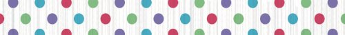 Multi-Dots Paper Party Streamer Flame Resistant