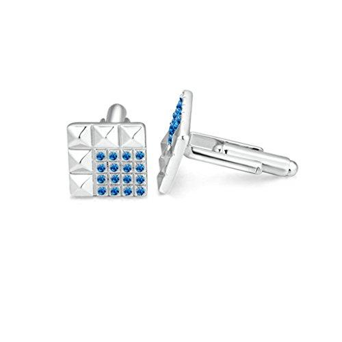 Epinki-Herren-Vergoldet-Manschettenknopf-mit-Quadrat-Zirkonia-Lattice-Blau-Geschft-Hochzeit-Geschenk-Manschettenknpfe-Cufflinks
