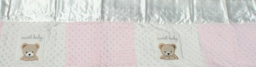 "Kids Line Super Plush Quilted""Sweet Baby"" Valance - 1"