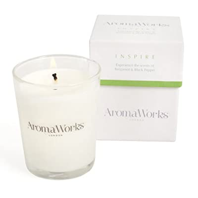 AromaWorks Candle Inspire 10 cl from AromaWorks Ltd, uk beauty, AROP4