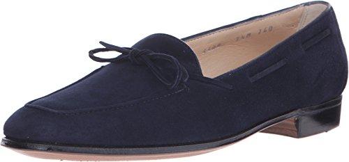 gravati-girls-bowed-velukid-slip-on-loafer-navy-loafer-6-m