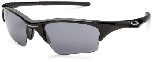 Oakley Men's Half Jacket XLJ Iridium Sunglasses,Jet