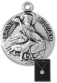Religoius & Catholic Necklace, St. William Patron
