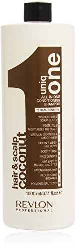 Revlon professionale Uniq All In One Shampoo 1000ml Coconut condizionata