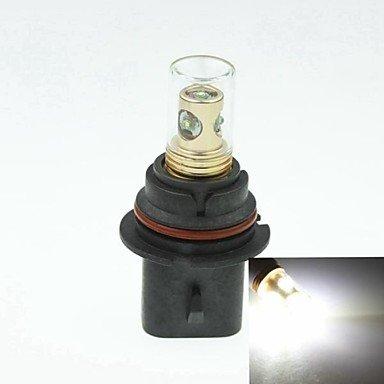 9007 Hb5 Px29T Cree Xp-E Led 20W 1300-1600Lm 6500-7500K Ac / Dc12V-24 Fog White - Gold Black