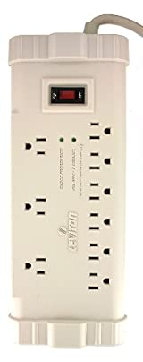 Office Grade Surge Strip, 9 Outlets, 15 Ft Cord, 5-15P plug, Beige, S2000-S15