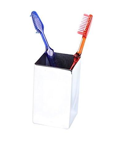 Gedy by Nameek's Nemesia Toothbrush Holder NE98-13, Chrome
