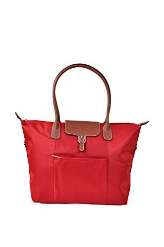 Shopping bag Hexagona spalla donne della gamma Cabas (rosso)