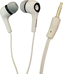 Silco Gold extended wire Earphone/ Handsfree For Samsung, Sony, Htc, Lg Etc_White