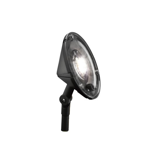 Kichler Lighting 15861Bkt Led Landscape Wall Washer With High/Low Setting, Textured Black