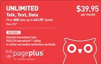 Pageplus Nano Sim Card For iPhone, Samsung s7 ETC. $39.95 Plan Included Free 3GB 4G LTE Data Unlimited Talk, Text Verizon Network Prepaid